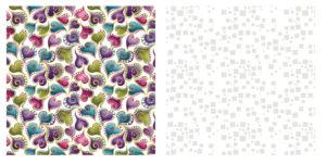 2 квадрата ткани для пошива блока