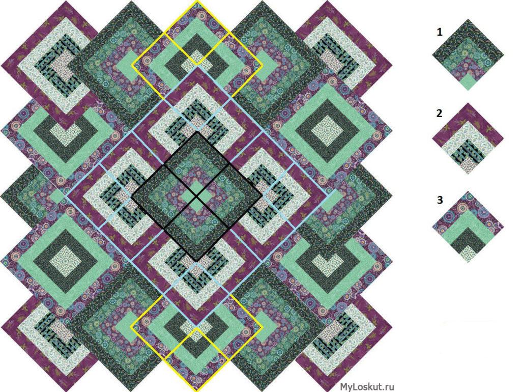 Как сложить красивую геометрию в лоскутном шитье