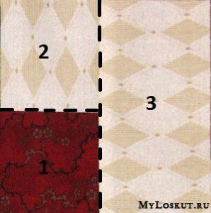 Способ сшивания квадратов между собой