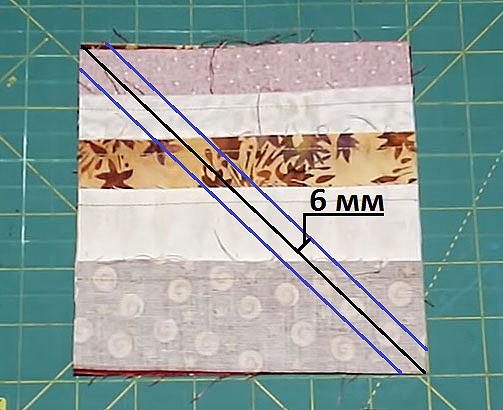 Как разрезать полосы ткани