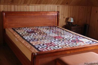 Красивое покрывало для спальни