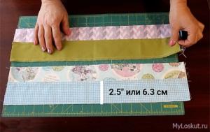 4 полосы ткани для лоскутного шитья