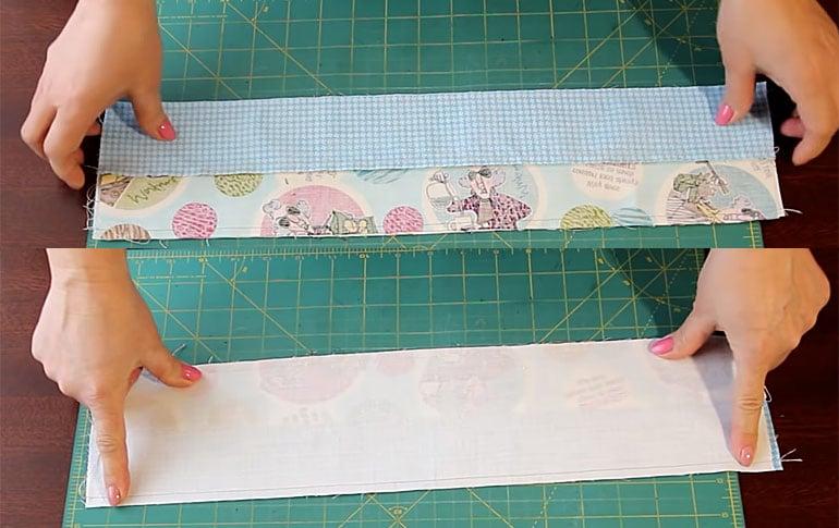 Полосы ткани для лоскутного шитья